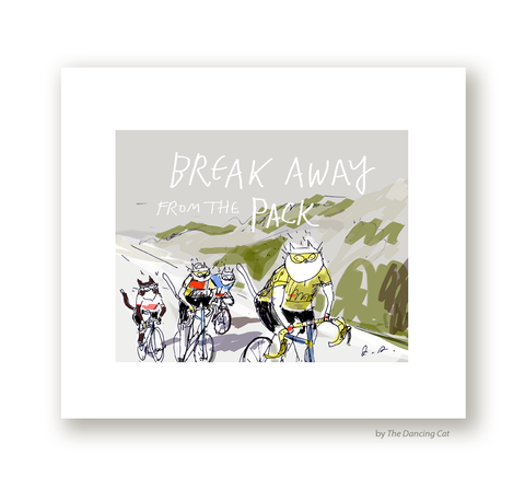 Break Away - Bike Print
