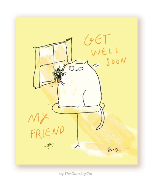 Get Well Soon My Friend Card