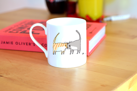 Headbutt Cat Mug