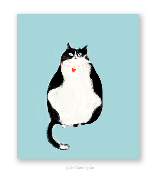 Thinking of You Cat Card - Sympathy Card
