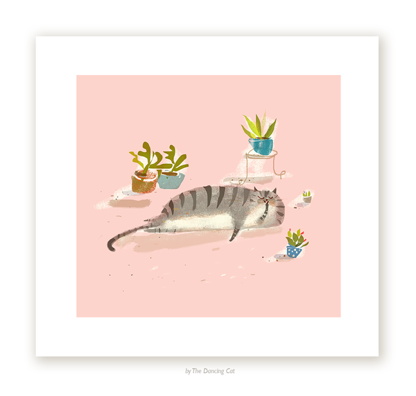 House Cat - Fine Art Print