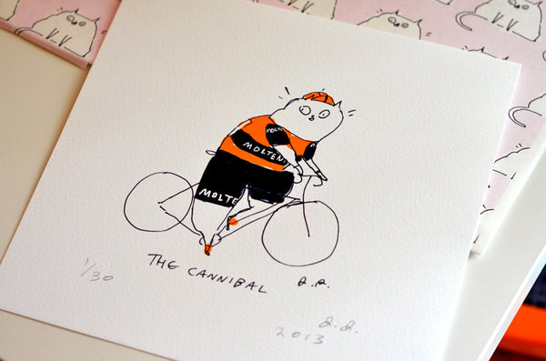 Eddy Merckx- Bike Art