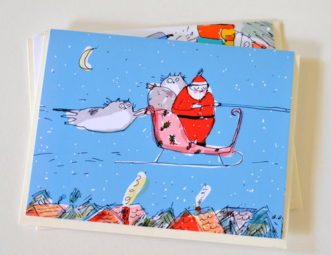 Stowaways- Christmas Card