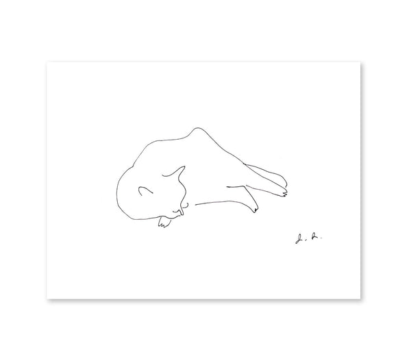 Cat Nap Print - Full Body