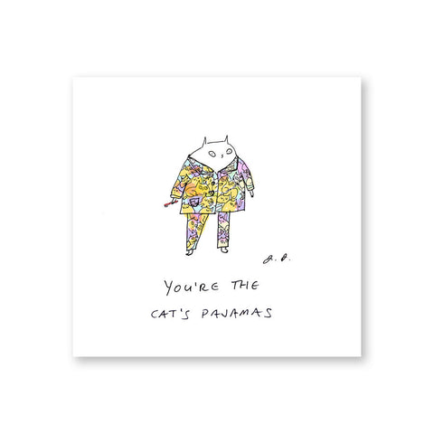 You're the cat's pajamas- Cat Print