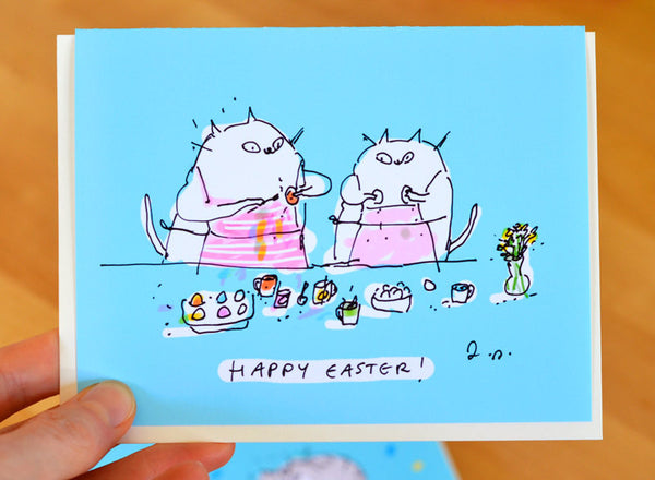 Happy Easter - Easter Egg Painting