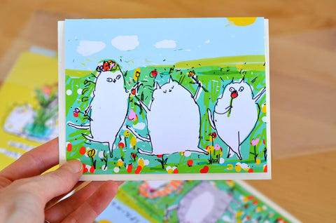 Happy Spring Card - Spring Revelry