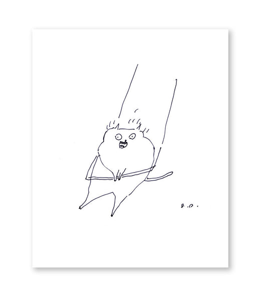 Free Spirit - Cat Art - Funny Cat print