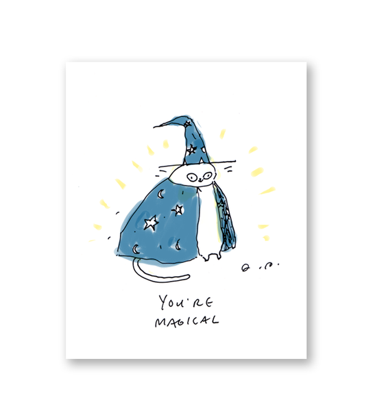 You're Magical Card