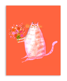Flower Cat Postcards- Set of 12