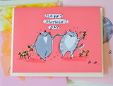 Happy Mother's Day Cat Card