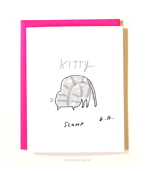 Kitty Slump Card