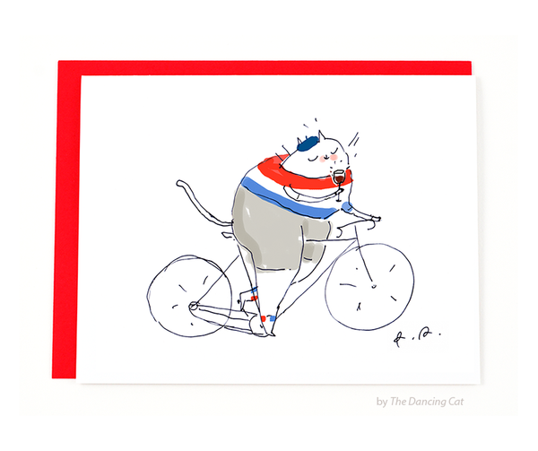 Tour de France Cat Card 2015