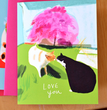 Da Kiss- Love You Kitty Card