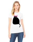 Protest Cat Shirt- White
