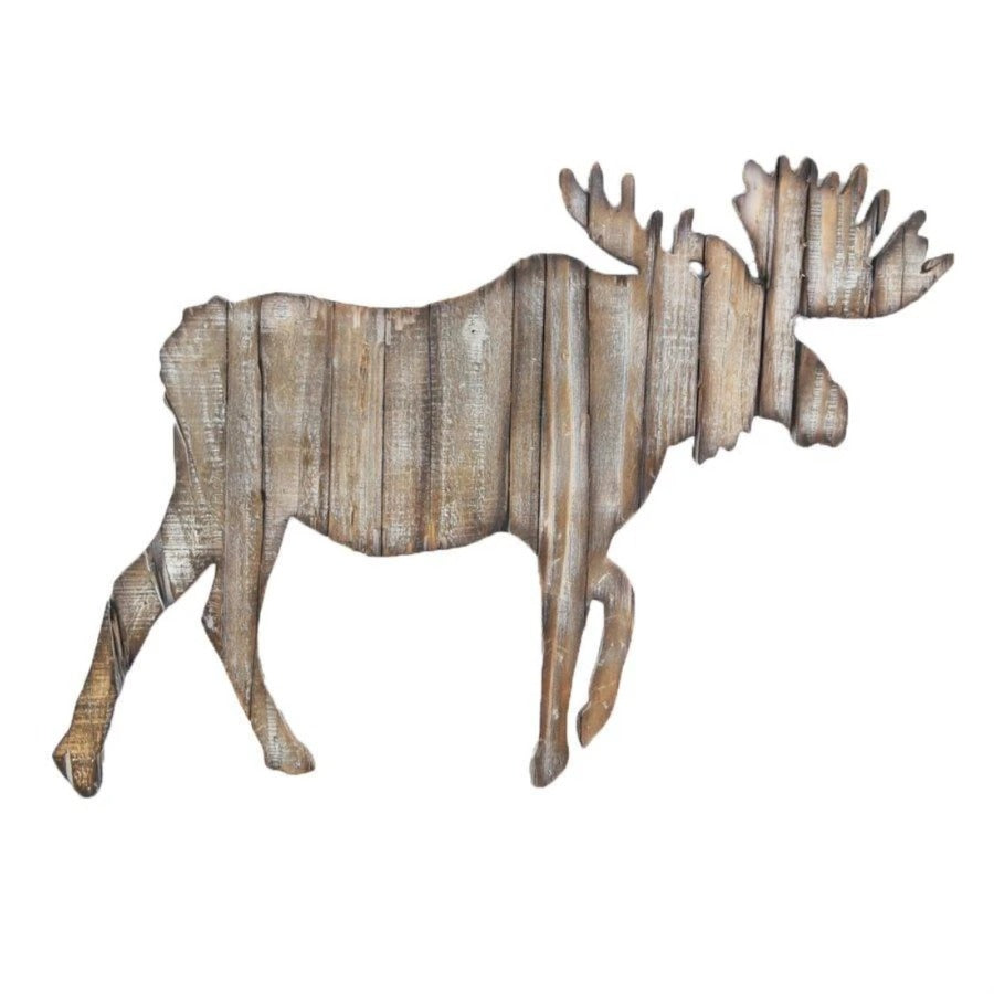 Moose Cut Out Large Wall Hanging