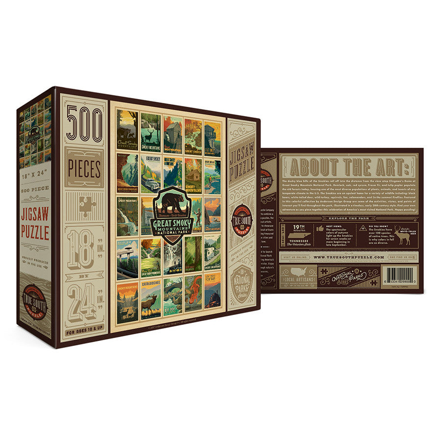 Great Smoky Mountains National Park 500 Piece Jigsaw