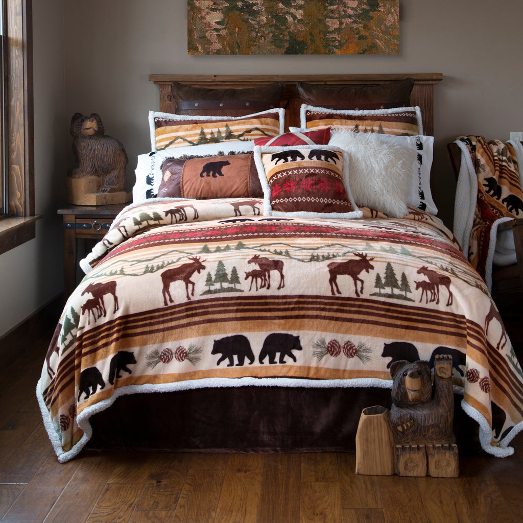 Hinterland Log Cabin Bedding Set UK