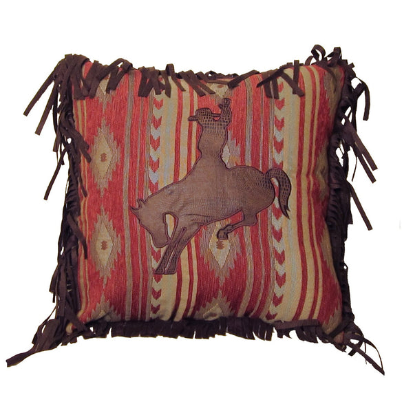 Flying Horse Bronc Cushion
