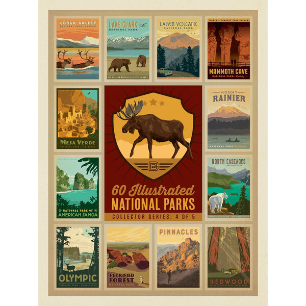 US National Parks Series Moose Jigsaw