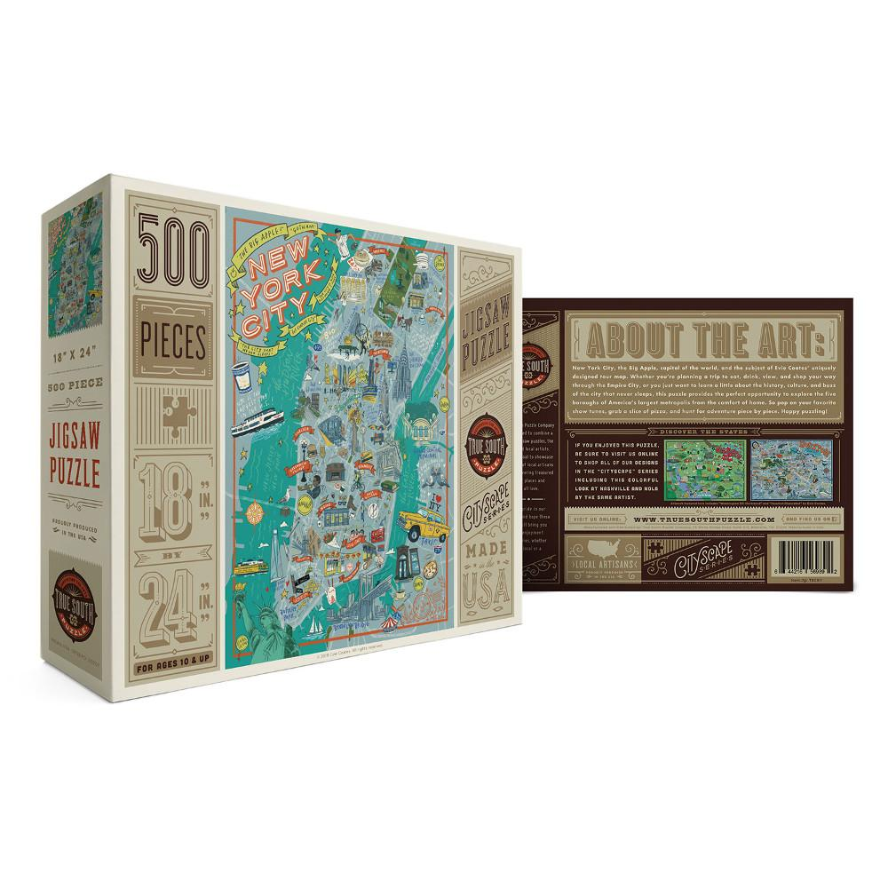 New York City Illustrated Jigsaw Puzzles in the UK