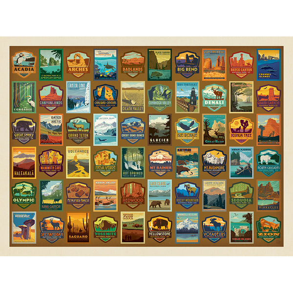 American National Park Patches Jigsaws in the UK