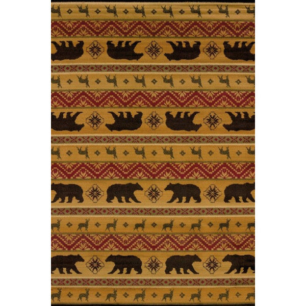 Earthy Bear and Deer Runner