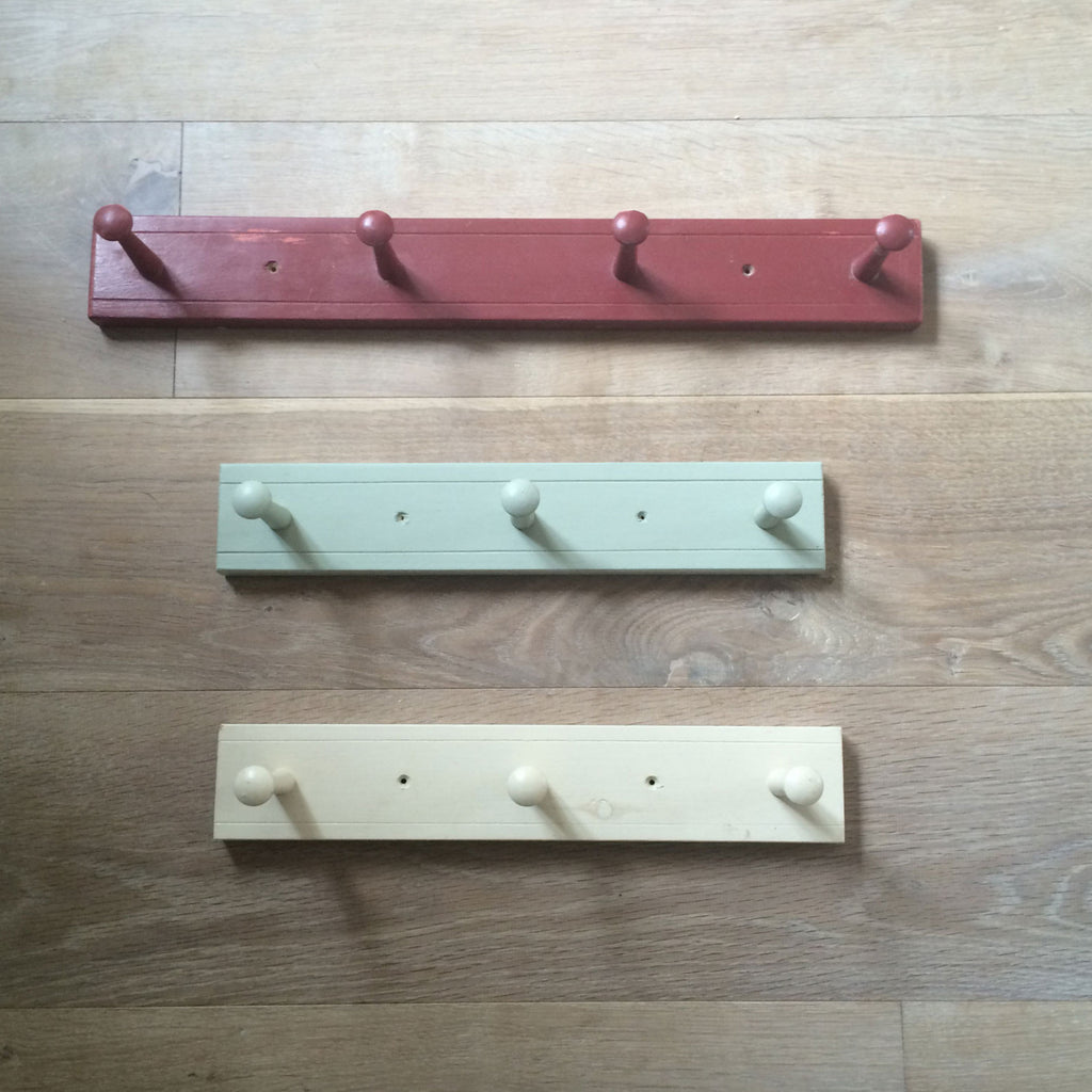 Farrow and Ball Painted Peg Rails