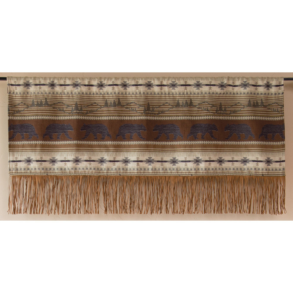 Rugged Earth Window Valance
