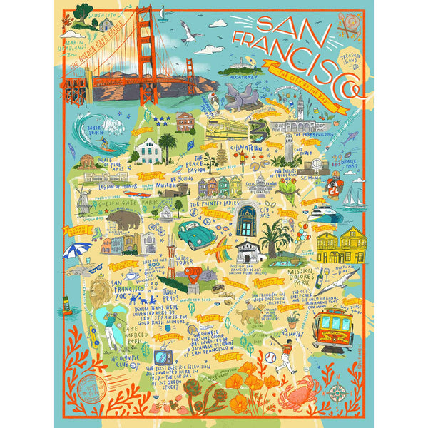 San Francisco Jigsaw Puzzles in the UK