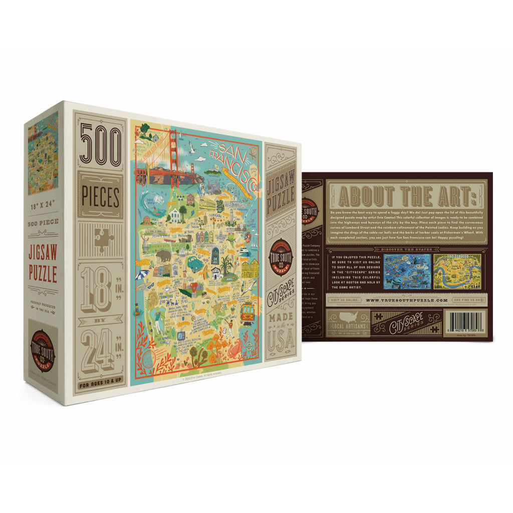 500 Piece San Francisco Jigsaw Puzzle
