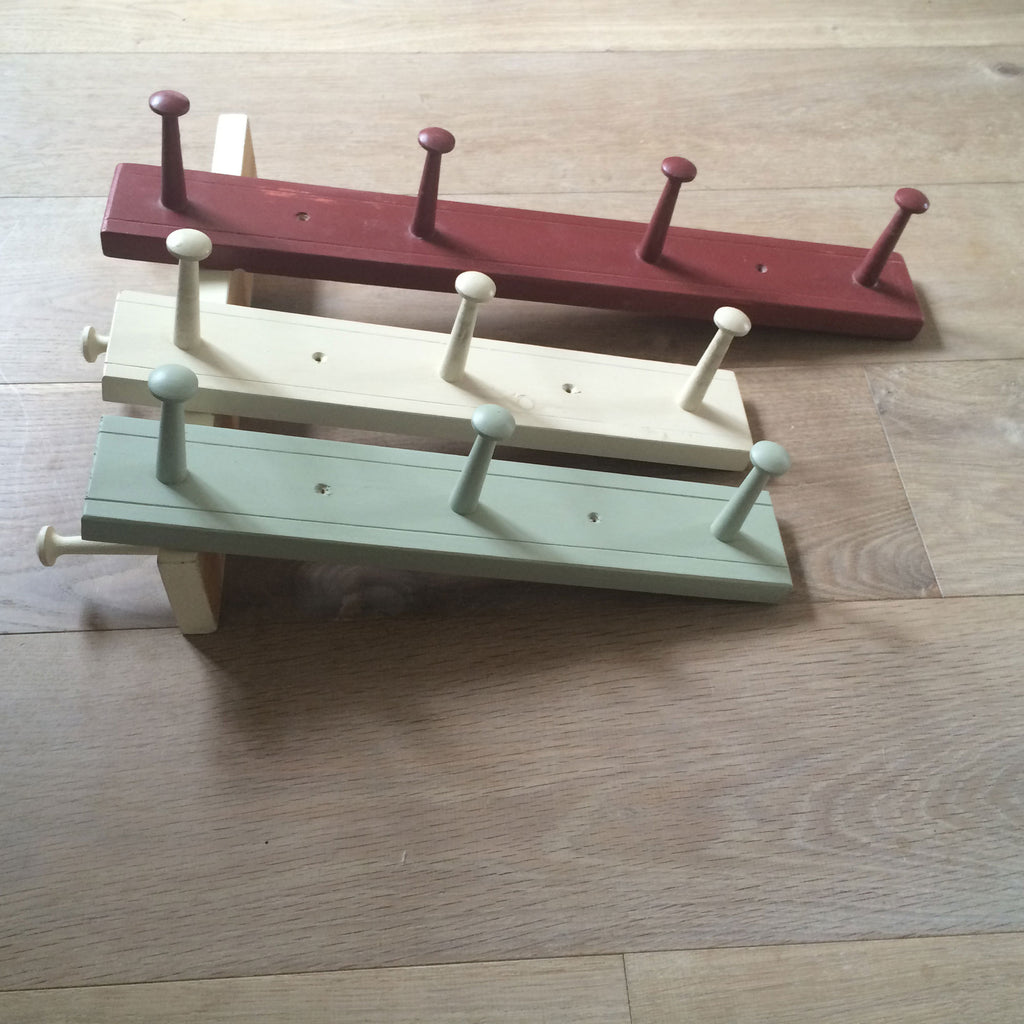 Shaker Peg Racks Painted