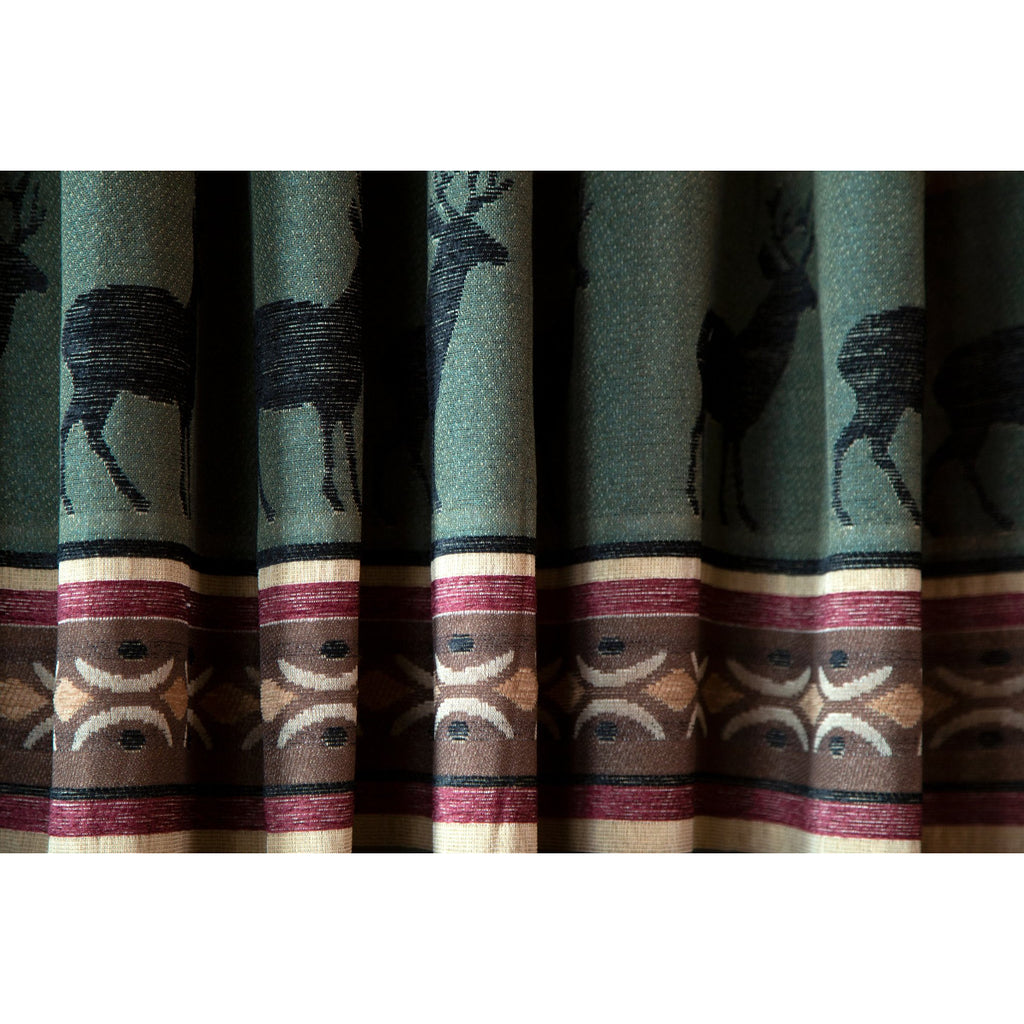 American Log Cabin Style Curtains