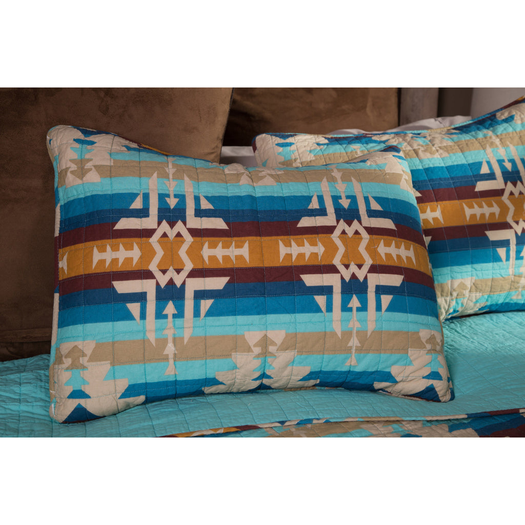 Southwest Harvest Pillow Shams