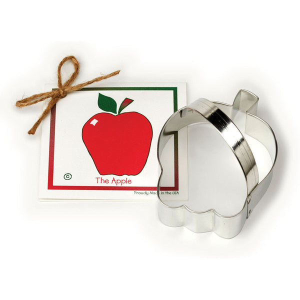 Apple Biscuit Cutter and American Recipe Card