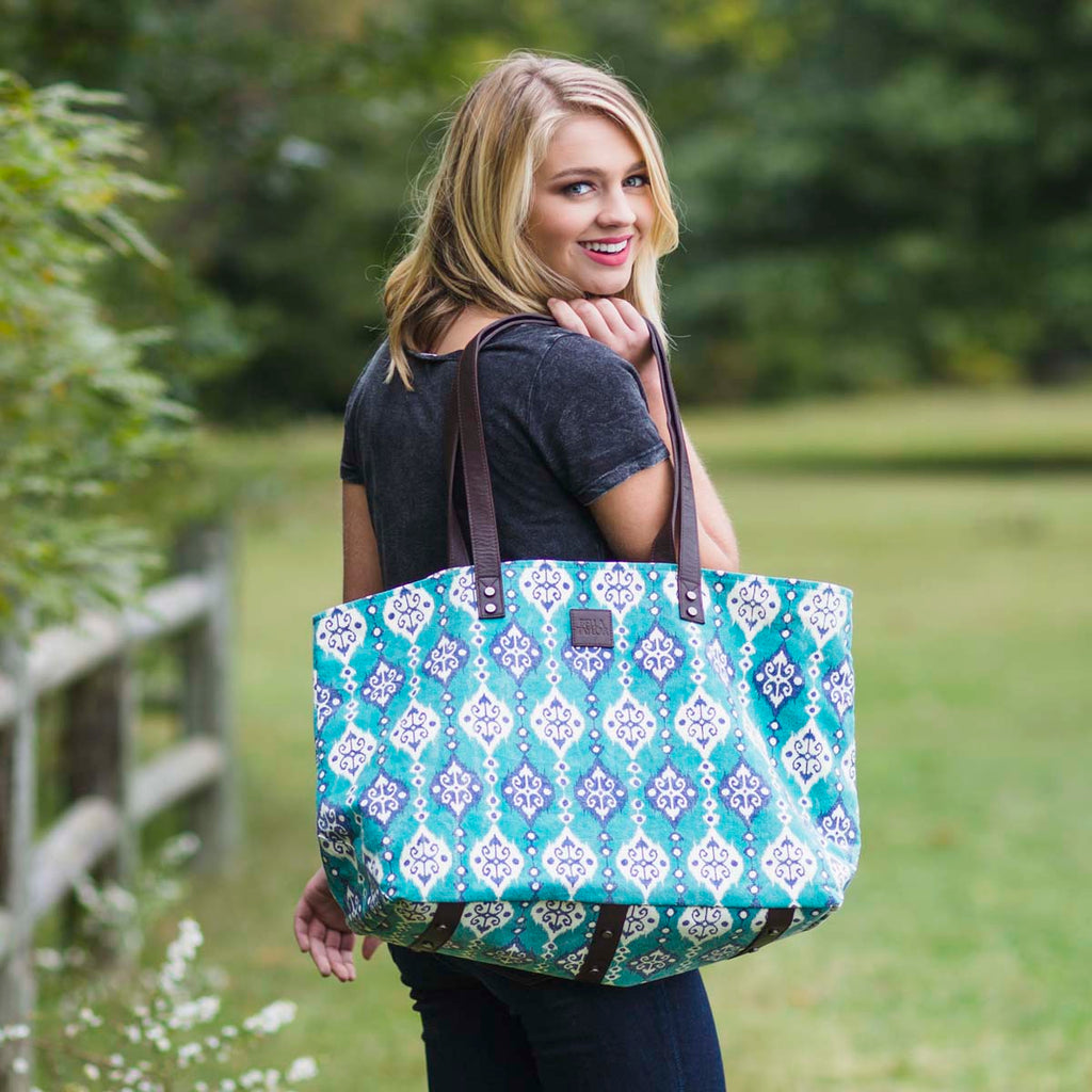 Lanai Wide Tote Bag