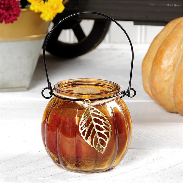 Pumpkin Spice Little Lantern Candle