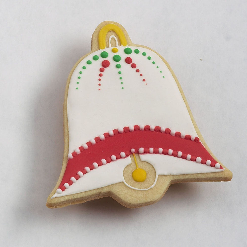 Bell Decorated Christmas Cookie