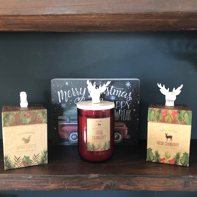 Winter Woodland Wild Cranberry Candle