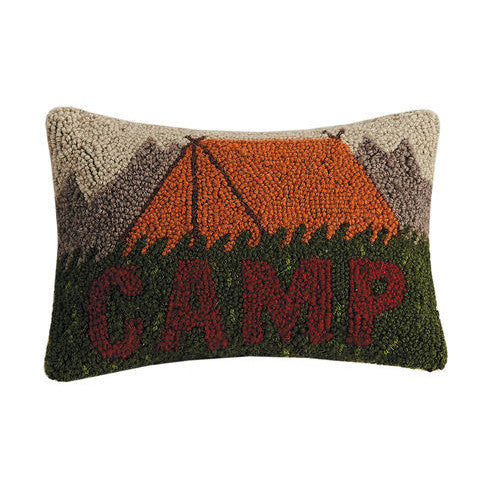 Camp Hooked Cushion UK