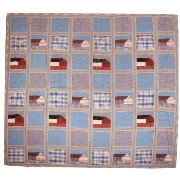 Cape Cod Quilted Throw or Wall Hanging