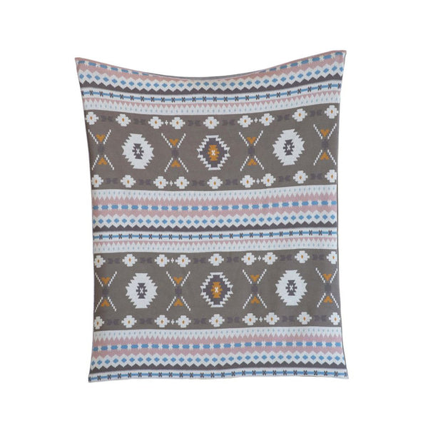 Children's Size Aztec Cotton Throw Blanket