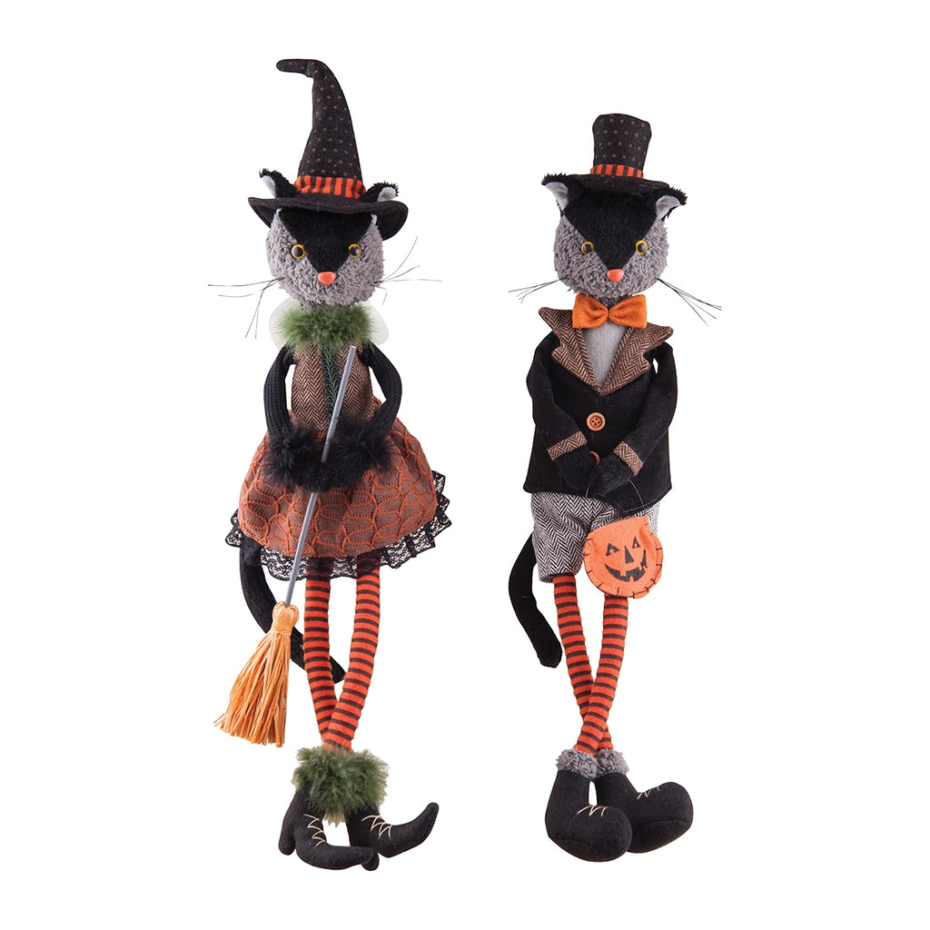 Halloween Cat Doll Decorations