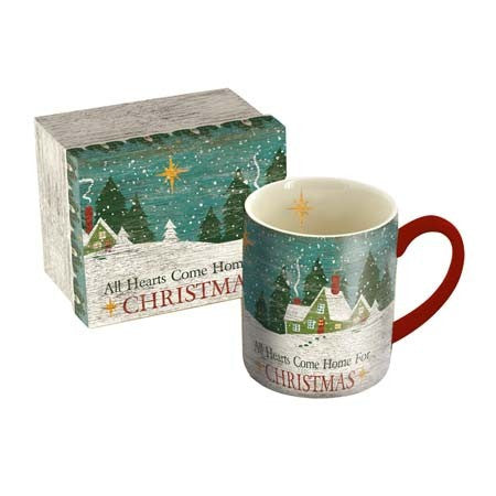All Hearts Come Home Christmas Mug and Box Set