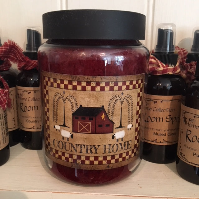 Country Home Comforts of Home Candle