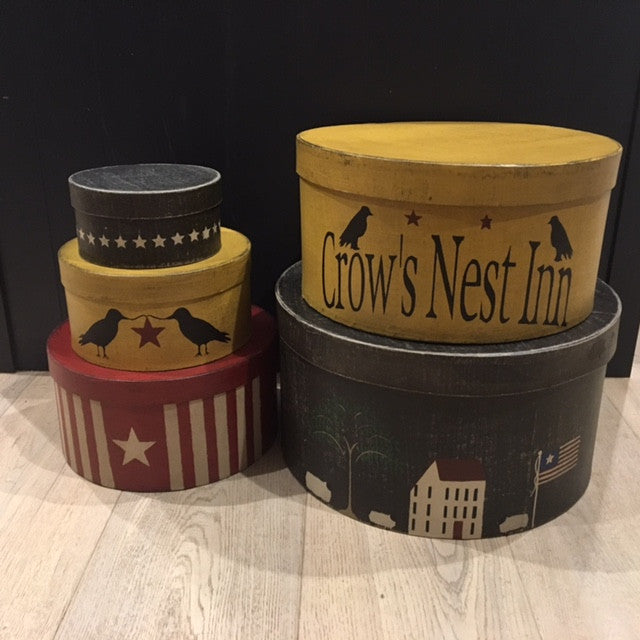 Crow's Nest Inn Shaker Style Boxes