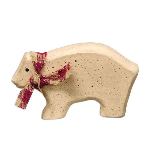 Little Wooden Bear Decoration