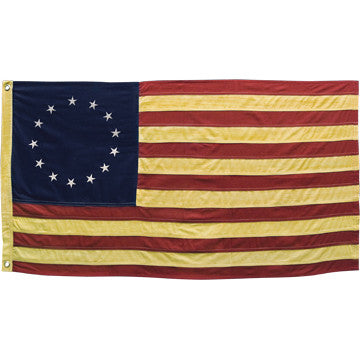 Tea Dyed Betsy Ross Flag