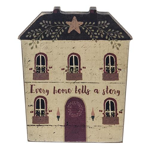 Every Home Tells a Story Wooden House Decoration