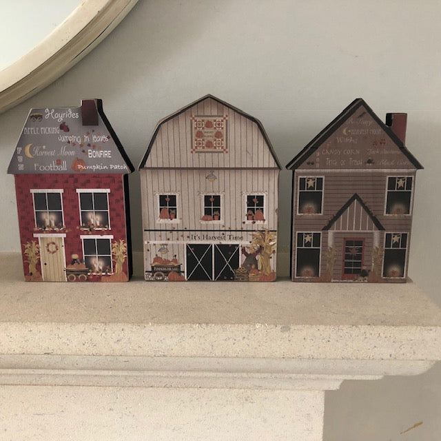 Wooden Fall House Decorations